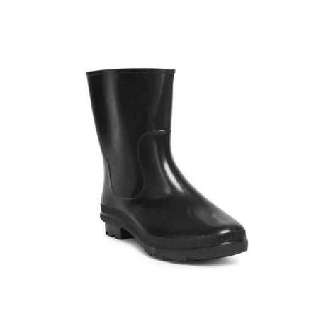 Hillson Don Plain Toe Black Gumboots