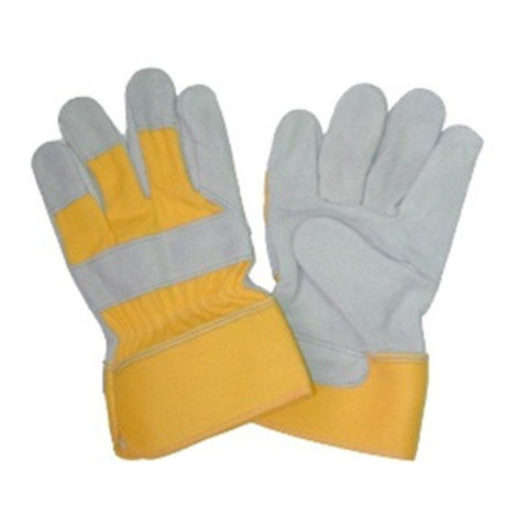 Super King Hand Leather Safety Gloves