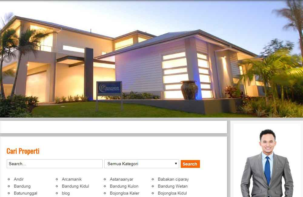 jasa website property