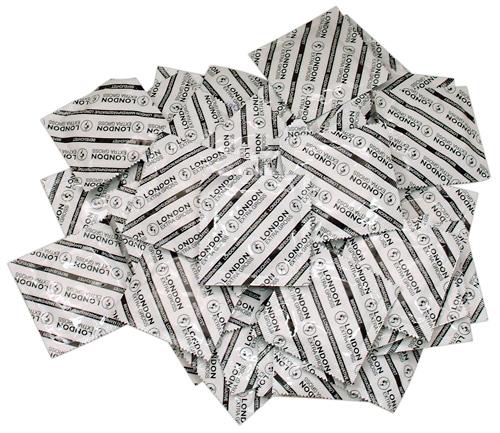 100 stk. - London kondomer - Ekstra store
