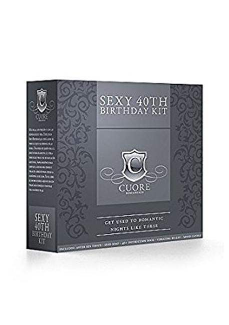 Sexy 40th – Syntymäpäiväsetti Cuore Romanticolta
