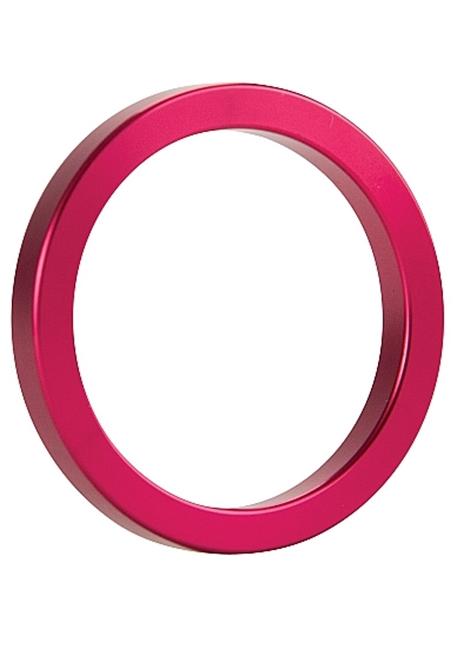 Ouch! - Metall penisring rosa (størrelse M)