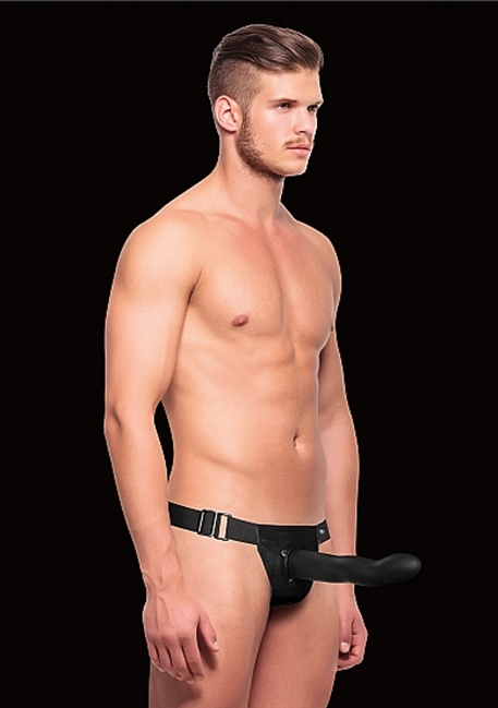 Ouch! - Hul Design Strap-On - Sort