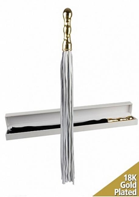 Ouch delux - Luksus Pisk Med 18 Karat Guld - Swarovski Diamanter