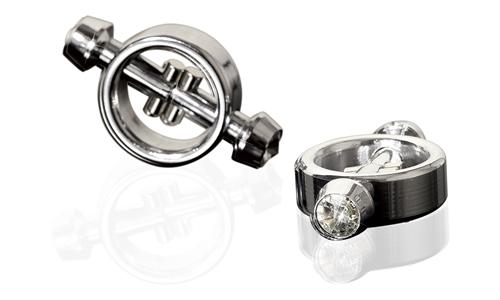 Metal Worx Magnetic Nipple Clamps - Bröstvårtsklämmor
