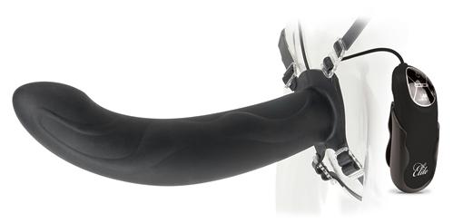 Fetish Fantasy Elite - Vibrerande 25,5 cm Strap-On