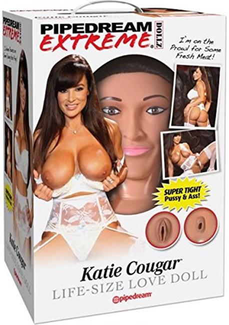 Pipedream Extreme Dollz Katie Cougar Life-Size Love Doll - Elskovsdukke