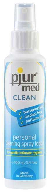 100 ml pjur med CLEAN Spray - Rengøringsspray intimbrug /sexlegetøj