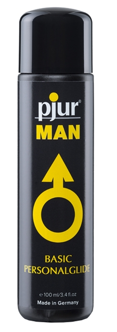 100 ml pjur MAN Basic glide - Fantastisk silikonebaseret glidecreme