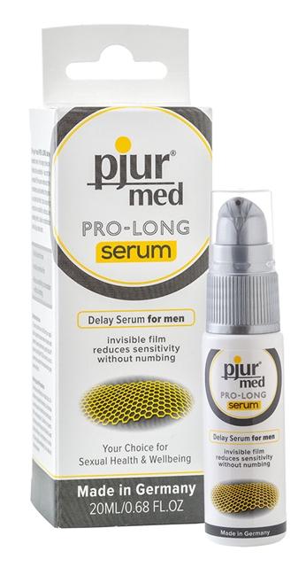 20 ml pjur MED Pro-long Serum - Længere nydelse - forsinker udløsning