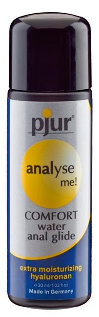 30 ml pjur analyse me! Comfort glide – Vesipohjainen Anaaliliukuvoide