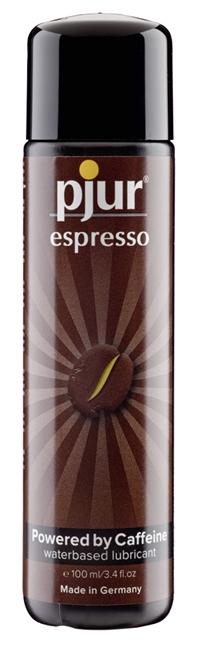 100 ml pjur Espresso – Stimuloiva, Kofeiiniä Sisältävä Liukuvoide