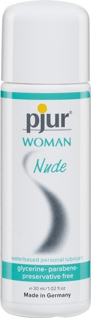 30 ml pjur Woman Nude – Erityisesti Herkkäihoisille ja Kuivuudesta Kärsiville Naisille