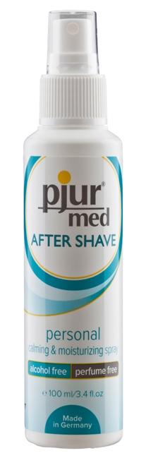 100 ml pjur med After Shave Spray – Vähentää Ihon Punaisuutta ja Ärtymystä