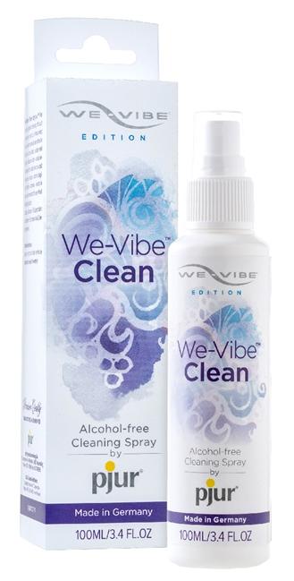 100 ml We-Vibe Clean - Rengøringsspray til We-Vibe produkter