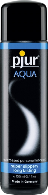 100 ml pjur Aqua - Vattenbasserat glidmedel till kondomer och sexleksaker