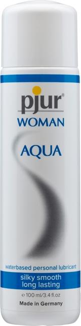 100 ml pjur Woman Aqua – Vesipohjainen Liukaste Naisille