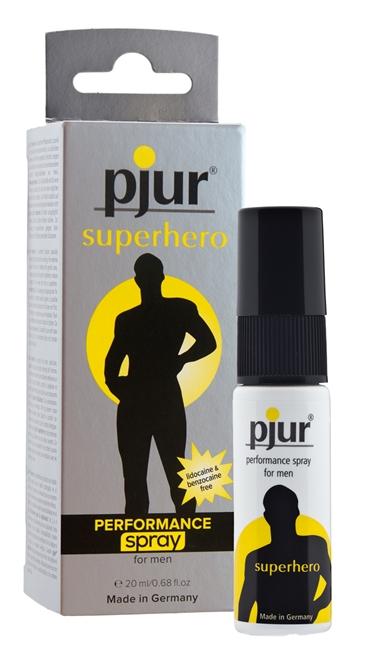 20 ml pjur Superhero Spray - Stronger and bigger