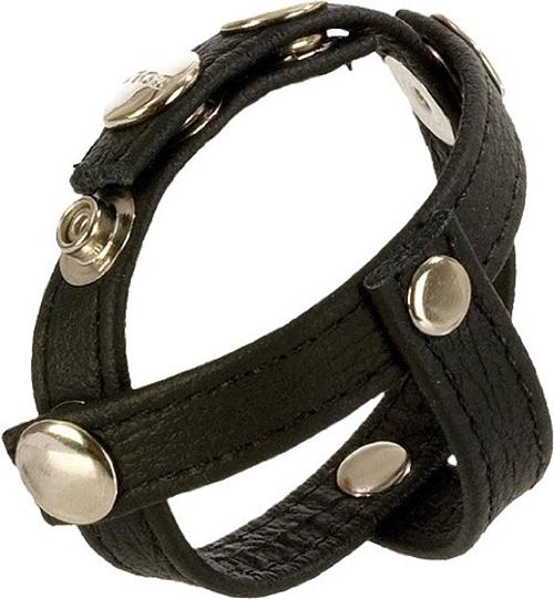 COLT® Leather H-Piece Divider Strap - Highend håndsyddt lær - 23x2 cm
