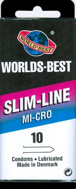 10 stk. SMALL Slim-Line - med creme