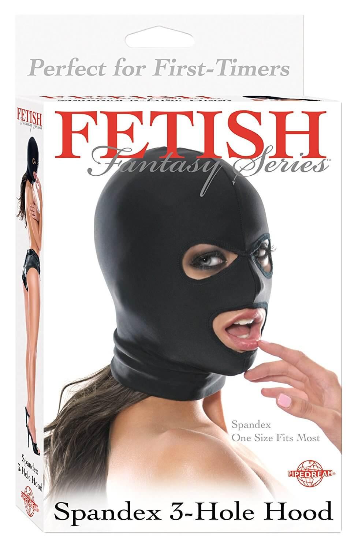 Fetish Fantasy Series Spandex 3-huls Hood