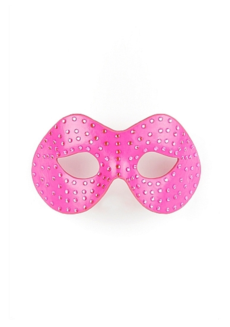 Ouch! - Ouch! Diamantbesat maske - Pink