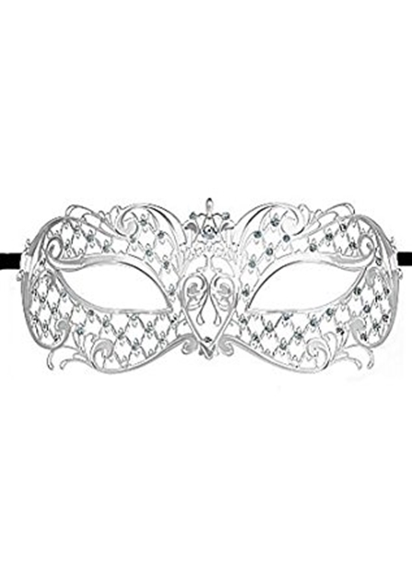 Ouch! - Angel Masquerade Mask  - Silver
