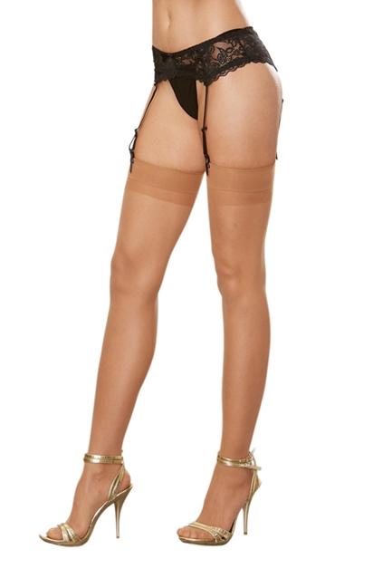 Dreamgirl - Moulin - Strømper til hofteholder - Style 0007 - Hudfarvet