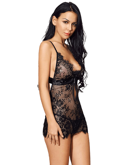 by LUANA - LIMA Baby Doll med Trusse (R80637|one size|One size)