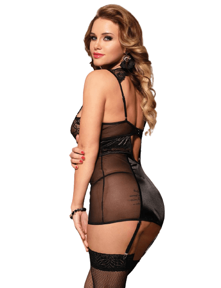 by LUANA - TAMPA Baby Doll med Fræk Ring (R80775-1 M One size)
