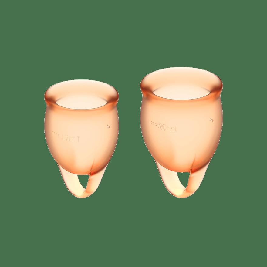Satisfyer Feel Confident Menstruationskop Orange