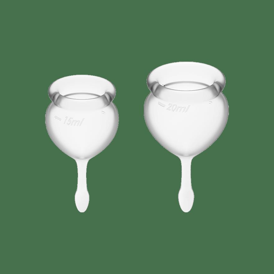Satisfyer Feel Good Menstruationskop Transparent