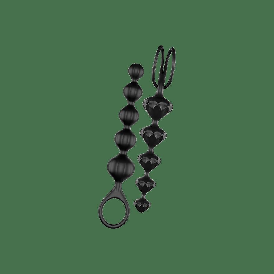 Satisfyer Love Beads Black Analkæde