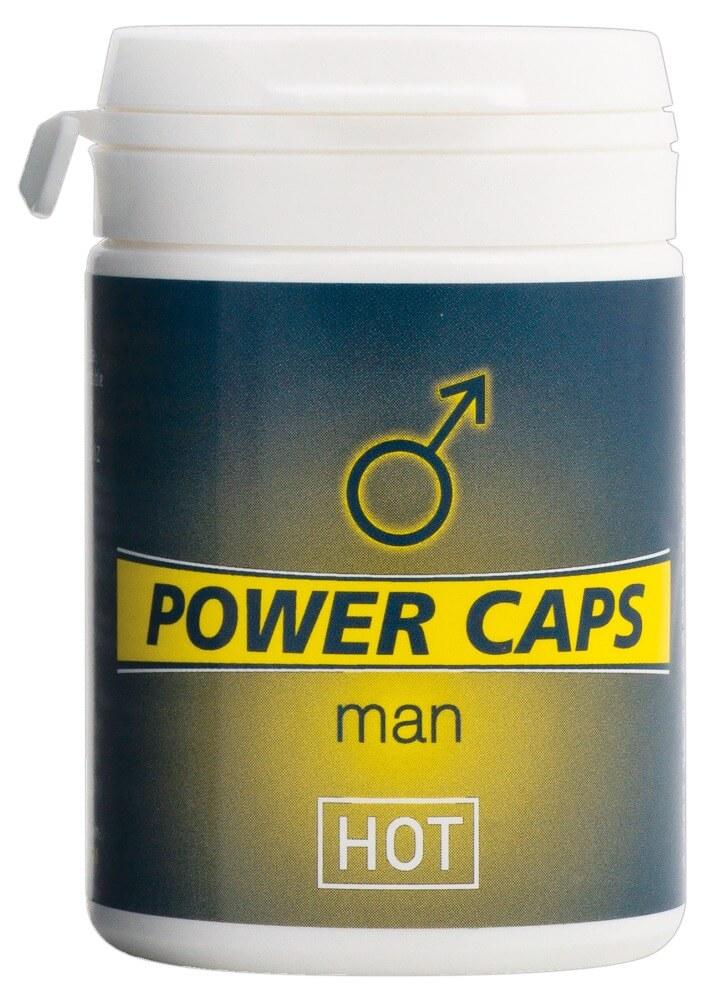 HOT Power Caps 60 stk. - Stimuler jeres virilitet!