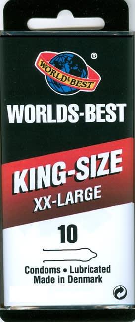 10 kpl XX-LARGE – King-Size – Likuvoiteella