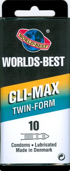 10 stk. MEDIUM - Cli-Max - med creme