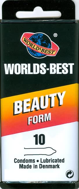 10 stk. X-LARGE - Beauty-Form - med creme.