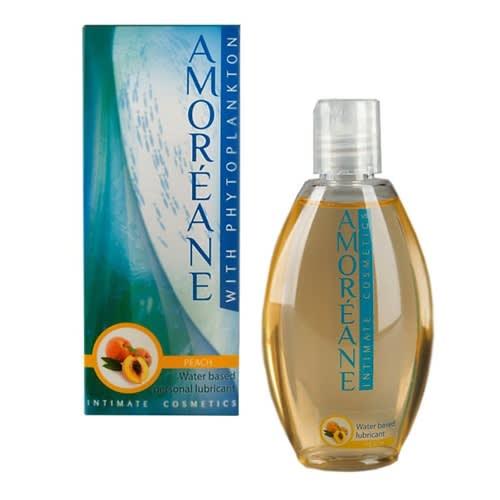 100 ML - AMOREANE - Vandbaseret glidecreme med let ferskensmag