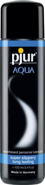100 ml pjur Aqua – Vesipohjainen Liukaste Kondomeille ja Leluille