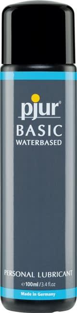100 ml pjur Basic Waterbased – Vesipohjainen Liukuvoide Yleiskäyttöön