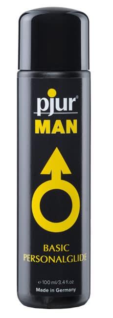 100 ml pjur MAN Basic glide - Fantastisk Silikonbaserat glidmedel
