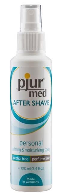 100 ml pjur med After Shave Spray - Reducerar röd och irriterad hud