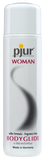 100 ml pjur Woman - Sensitiv massasje- og glidekremer til kvinner