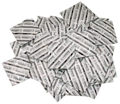 100 stk. - London kondomer - Ekstra store og med lille gave