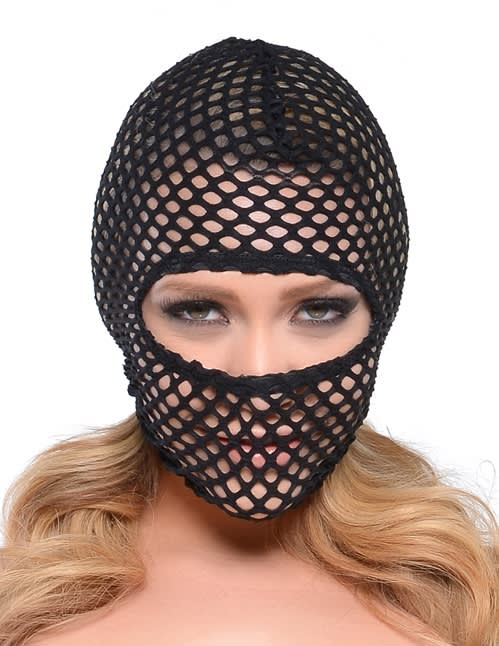 Fetish Fantasy Series Fishnet Hood - Fiskenet hætte