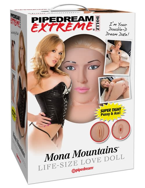 Pipedream Extreme Dollz Mona Mountains Life-Size - Elskovsdukke