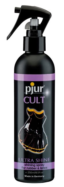 250 ml pjur Cult Ultra Shine -  Til latex, gummi og lædertøj