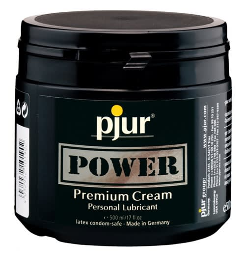 Image of   500 ml pjur Power - Når der indgår analleg og sexlegetøj
