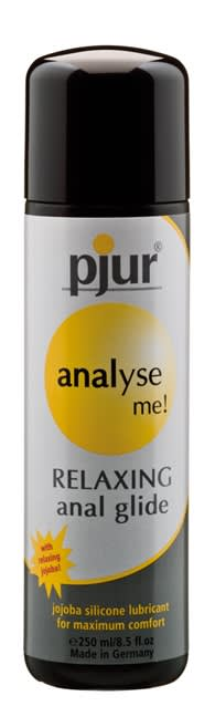 Image of 250 ml pjur analyse me! Relaxing - Afslappende nydelse ved analsex
