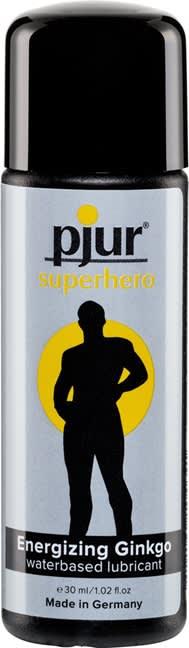Image of 30 ml pjur Superhero glide - Vandbaseret glidecreme til ham